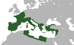 República romana, hacia el44 a. C.,