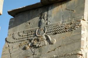 Ahura Mazda, otra antiquísima deidad voladora