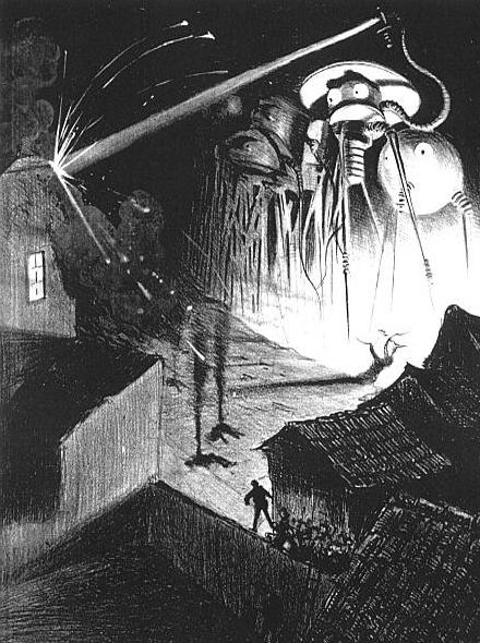 encuentros con extraterrestres guerra de los mundos