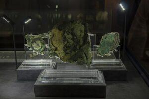 Partes del mecanismo de Anticitera