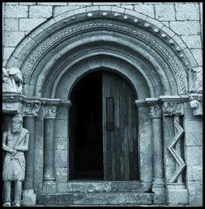 Pórtico de la ermita de san pantaleon