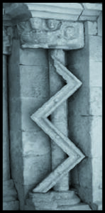 Arca sobre un zigzag